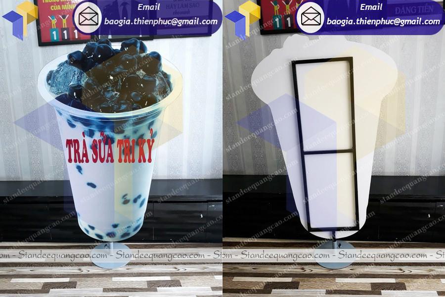 mô hình ly trà sữa